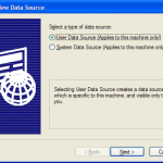 Figure 8: Create New Data Source window