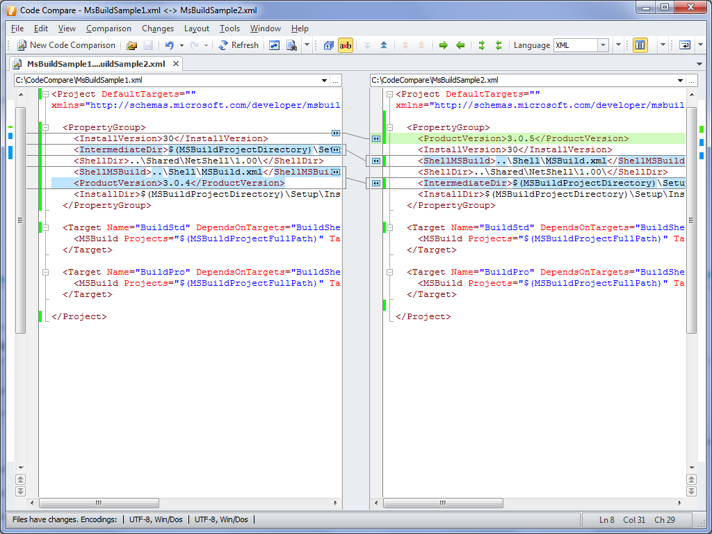 Structural Code Comparison for XML: Usage and Limitations