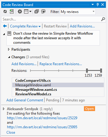 Iterative Code Review