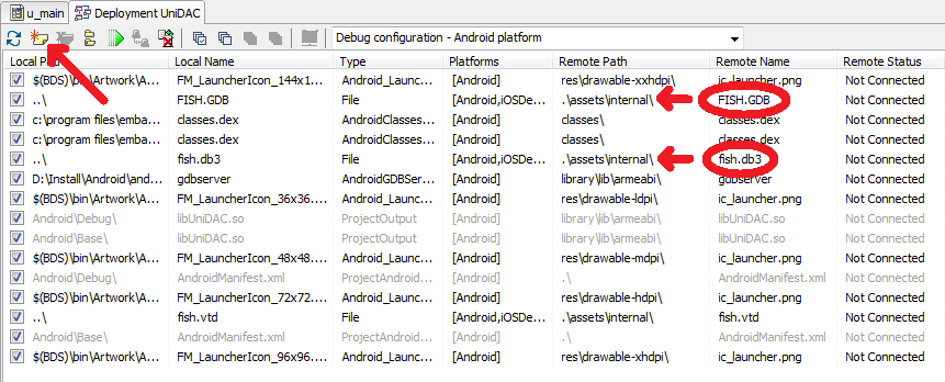 How to Develop Android Database Applications in RAD Studio XE5