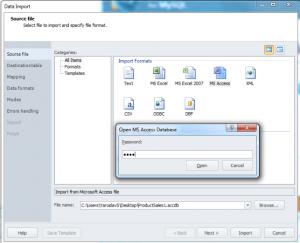 Sourece File Window