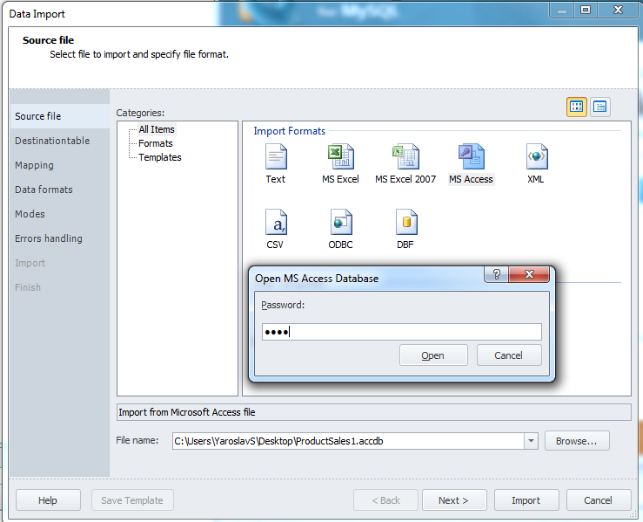 How To: Convert a Database from Microsoft Access to MySQL