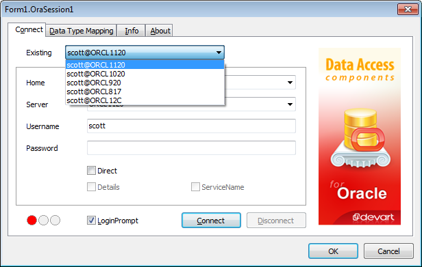 ODAC Integration With dbForge Studio for Oracle