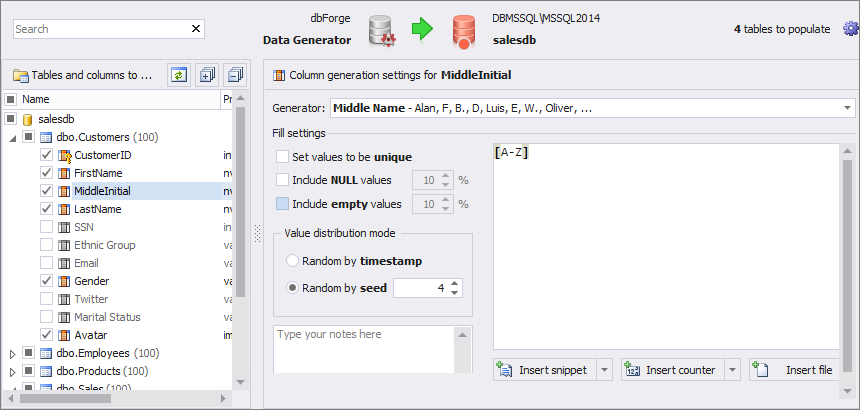 Sql Generator Test Data Server Generate With Meaningful For