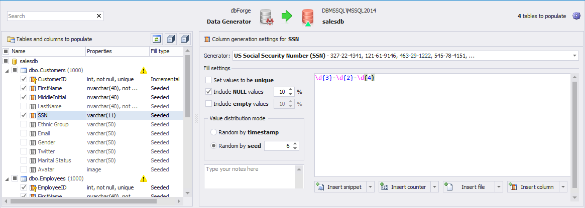 Test With Sql Server Generate Data For Meaningful Generator vowel