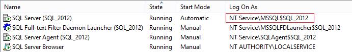 SQL Server instance