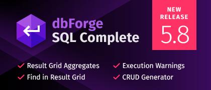 SQL Complete 5.8