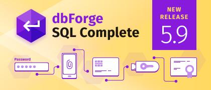 SQL Complete 5.9