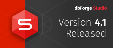 dbForge Studio for Oracle 4.1 release