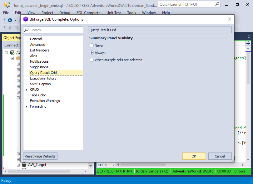 Integrate SQL Complete into Visual Studio 2019!