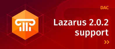 DAC Support Lazarus IDE 2.0.2