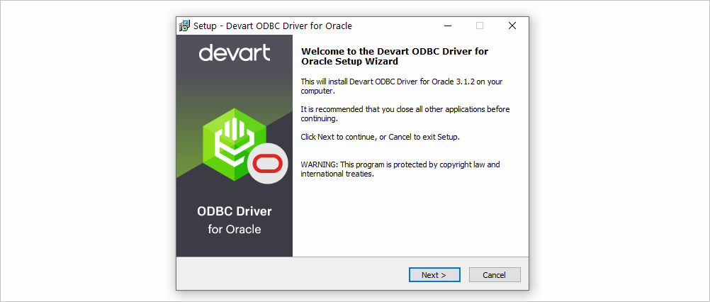 ODBC Driver Install on Windows 10