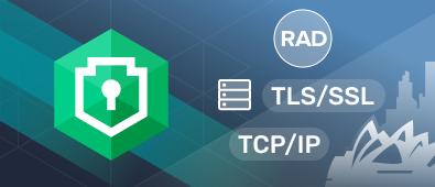 Securebridge SSL and TCP server components